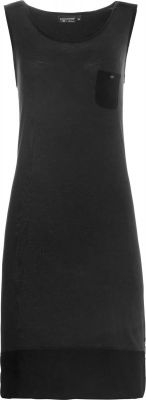 Zwart mouwloos nachthemd Pastunette Deluxe