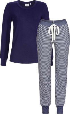 Indigo Lyocell pyjama Solo per me