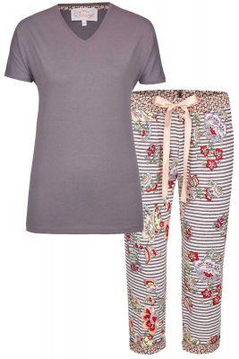 Aubergine Bloomy pyjama