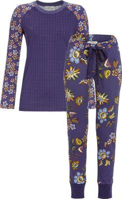 Bloomy dames pyjama blauw