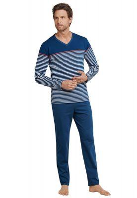 Schiesser heren pyjama met V-hals