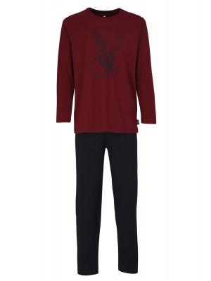 Rode Tom Tailor heren pyjama