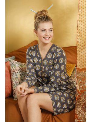Grijs dames nachthemd Pastunette