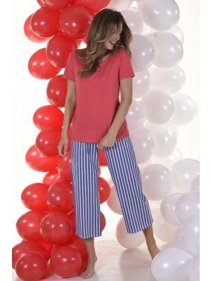 Bloomy pyjama rood blauw