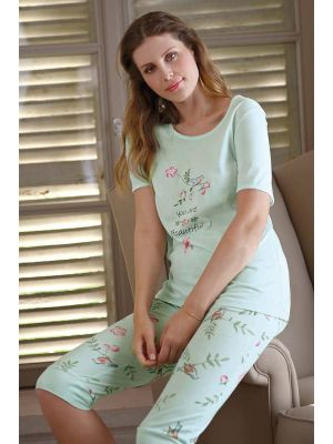 Licht groene pyjama Beautiful