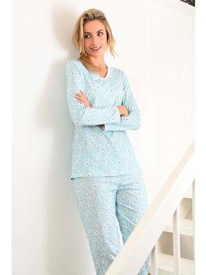 Blue glass dames pyjama