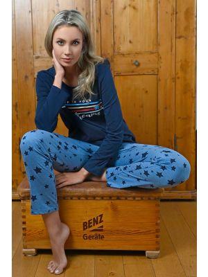 Donker blauwe pyjama Dreams