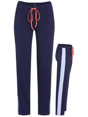 Blauwe homewear broek Ringella