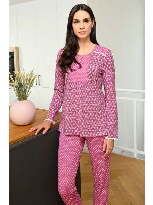Ringella pyjama roze