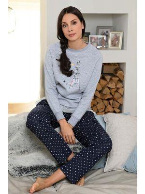 Luxe pyjama Parijs Ringella