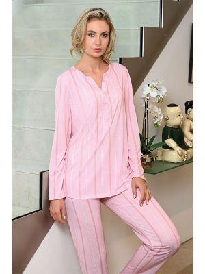 Roze pyjama Ringella
