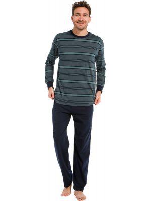 Groene heren pyjama katoen