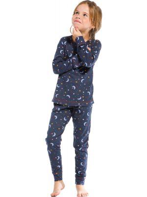Meisjes pyjama moon en stars