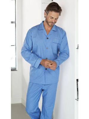 Katoenen doorknoop pyjama Robson