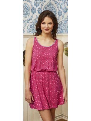 Roze nachthemd stippen van Bloomy