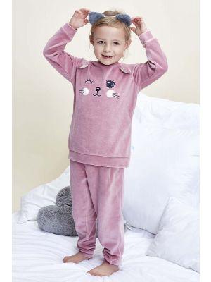 Charlie Choe velours poezen pyjama