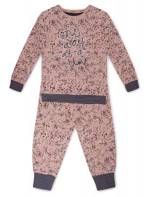 Roze meisjes pyjama stip stip