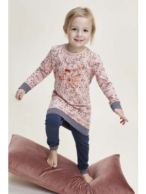 Roze meisjes pyjama elfje