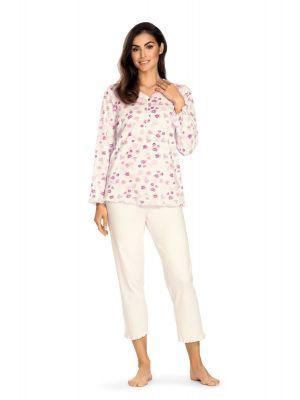 Warme ecru pyjama Comtessa