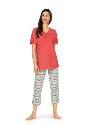 Rode Comtessa pyjama