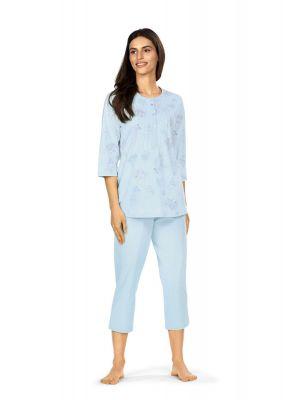 Blauwe pyjama Comtessa