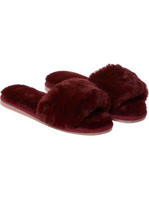 Fluffy instap slippers dames Pastunette