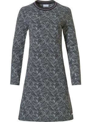 Dames nachthemd grijs Pastunette