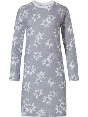 Katoenen dames nachthemd bloem