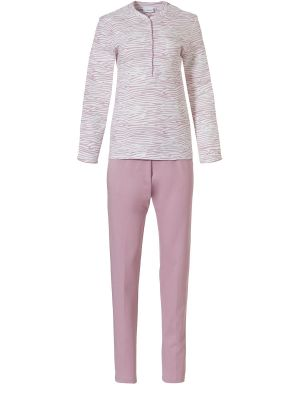 Warme interlock dames pyjama