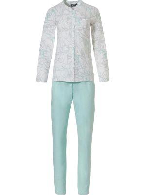 Katoenen doorknoop dames pyjama Pastunette