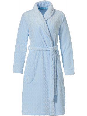 Blauwe dames badjas Pastunette