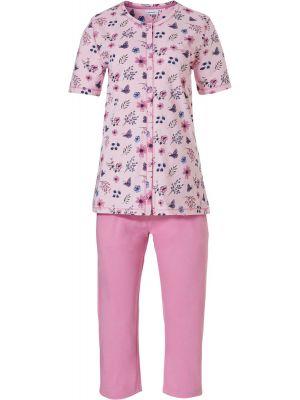 Doorknoop pyjama biologisch katoen Pastunette