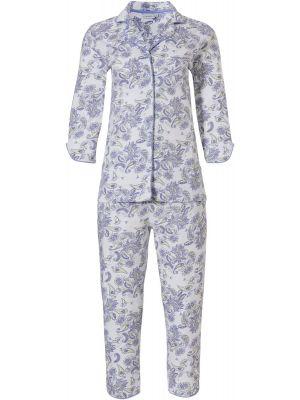 Doorknoop dames pyjama biologisch katoen