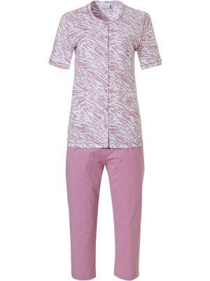 Doorknoop dames pyjama Pastunette roze