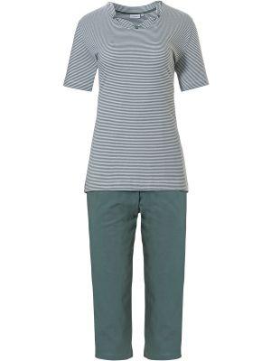 Gestreepte dames pyjama Pastunette