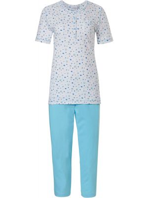 Witte dames pyjama cirkelpatroon