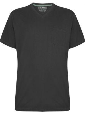 Grijs pyjama shirt V-hals