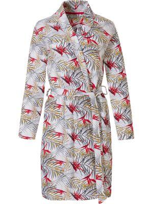 Katoenen zomer dames badjas