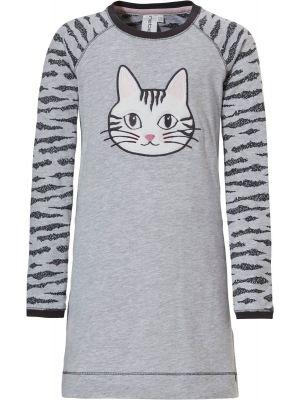 Meisjes nachthemd kat