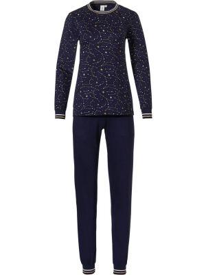Dames pyjama blauw sterrenhemel