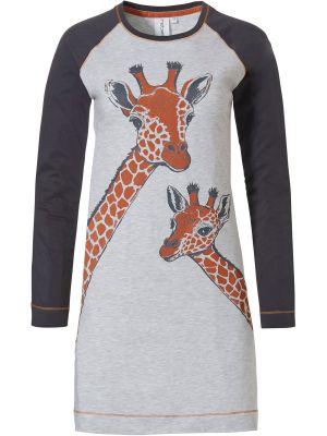 Dames nachthemd giraffe