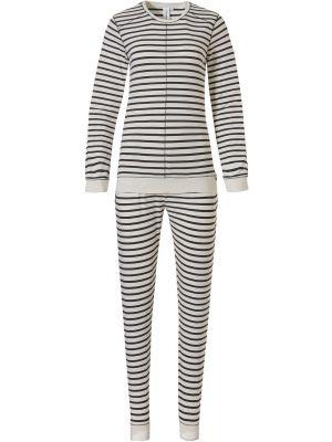 Gestreepte dames pyjama Rebelle