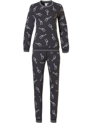 Dames pyjama katoen wildlife