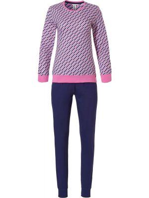 Roze katoenen dames pyjama Rebelle