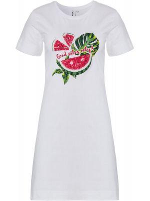 Wit nachthemd meloen