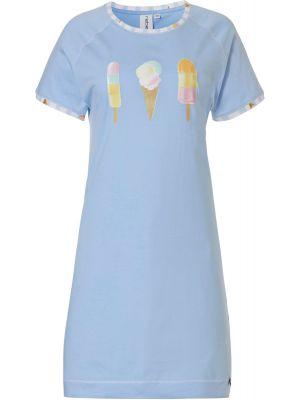 Blauw nachthemd ijsjes