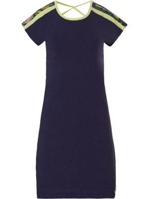 Sportief donker blauw nachthemd