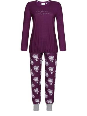 Bordeaux Ringella pyjama Love