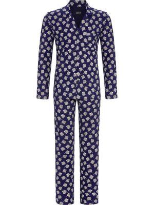 Doorknoop heren pyjama wasbeer