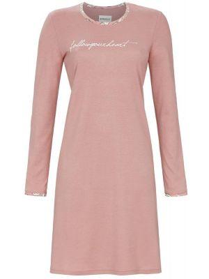 Roze Ringella nachthemd Follow your Heart